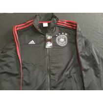 Adidas Seleccion De Alemania Chamarra Color Negro Original
