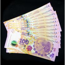 Billete 100 Pesos Conmemorativo Eva Perón. Sin Circular.