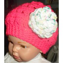 Gorros Tejidos A Crochet 100% Artesanal. Adultos E Infantil