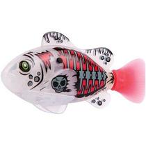 Robô Fish Peixe Pirata Nada Sozinho Dtc 2957 Branco