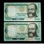 2 Billetes 1000 Soles De Oro 1979 - Escaso