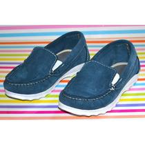 Mocasines Zapatos Sommet Kids Azules Little Treasure