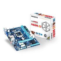 Placa Mãe Gigabyte Ga-h61m-s1 Lga 1155 Intel H61