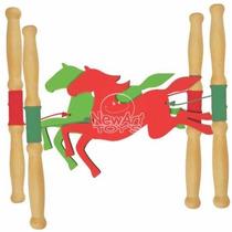 Brinquedo Para Coordenação Motora Corrida De Cavalos