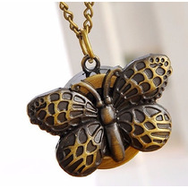 Reloj Collar De Mariposa