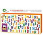Imanografo Con Letras Numeros De Goma Eva Iman/ Open-toys 27