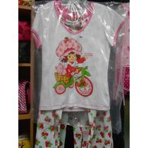 Pijama Para Damas Fresita Original-somos Kittyamoreca