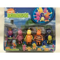 Backyardigans - Kit Com 5 Bonecos - Pronta Entrega
