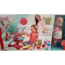 Little Mommy Carrito De Compras Fisher Pice Caja Maltratada