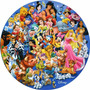 Rompecabezas Disney Circulo De Amigos 150 Pzs 3d Lenticular