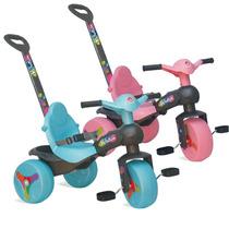 Triciclo Passeio Infantil Pedal Menino Menina