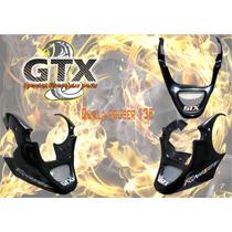 Quilla Para Rouser 135 Con Malla Metalica Gtx Plasticos