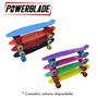 Skate De Plastico Powerblade Ruedas Silicona 60mm