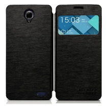 Case Funda Protector Alcatel Idol X One Touch Booklet