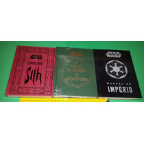 Star Wars Livro Sith Caçador De Recompensa Manual Império