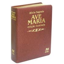 Bíblia Católica Sagrada Ave Maria - Edição Ilustrada