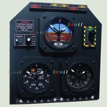 Conjunto Estilizado Como Painel De Avião - Relógios