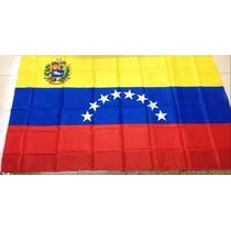 Bandera Venezuela 150x90cm Pais Seleccion Escudo