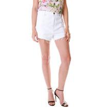 Shorts Multi Ponto Denim Color Cintura Alta