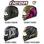 Cascos De Moto Icon Alliance - Operator, Shaguar, Watch Keep