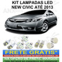 Kit Lampadas Led New Civic - Super Promoçao Anx Leds