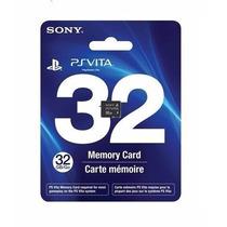 Cartão Memória 32 Gb Original Sony Vita Psvita Memory Card