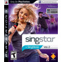 Singstar Vol. 2 Ps3 Original No Incluye Micrófonos.