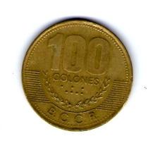 Moneda De 100 Colones. 1998 Costa Rica