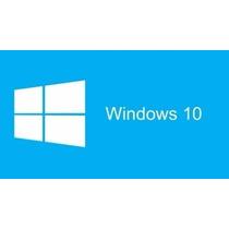 Windows 10 Pro 32/64bits 1 Pc Permanente Entrega En El Acto