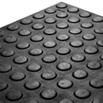 Piso Moeda Borracha (moeda Ou Pastilhado) Placa 50x50x4,5mm