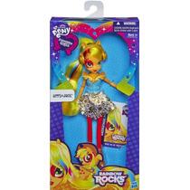Muñeca Equestria Girls Rainbow Rocks Applejack Hasbro