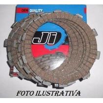 Jogo Disco Embreagem Hornet 2005 / 2007 (9 Pçs) Quality Ji