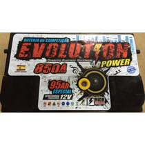 Baterias Som Automotivo Evolution Power Super 95 Ah + Nf