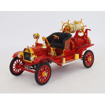 Camión De Bomberos Ford T 1914 Escala 1:18 Road Signature
