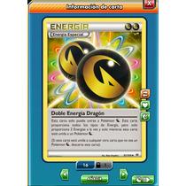 Pokemon Tcg Online - Energía Dragón Dupla - Carta Virtual