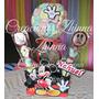 C.zhinna Centro De Mesa Adorno Topiario Mickey