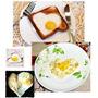 Molde Corazon Huevo Frito!! Ideal Enamorados!!