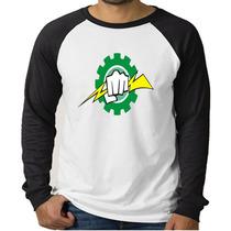 Camiseta Raglan Curso Engenharia Elétrica - Manga Longa