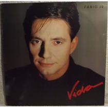 Lp / Vinil Mpb: Fabio Jr. ( Júnior ) - Vida - 1988