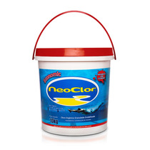 Cloro Granulado Piscina Neoclor Economic Balde 10 Kg