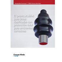 Crouse Hinds Conector Aluminio Tmcx 1/2´´ Recubierto Pvc