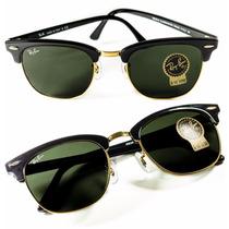 Gafas De Sol Ray-ban Clubmaster Rb3016 W0365 100% Originales