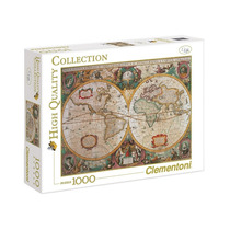 Puzzle Clementoni X 1000 Mapa Antigua Mym 31229