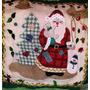 Hermoso Adorno Navidad Para La Puerta Bordado A Mano