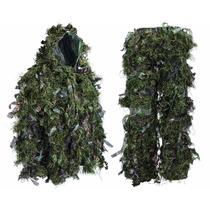 Traje De Camuflaje Hybrid Woodland Camouflage Ghillie Suit