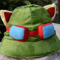 Gorro Capucha League Of Legends Teemo Cosplay Lol Gorra
