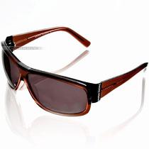 Óculos De Sol Masculino Up Union Pacific Marrom Acetato Novo