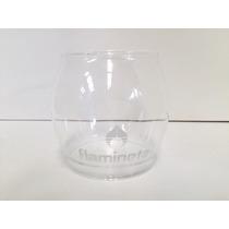 Lampara Gas Repuesto De Cristal Globo