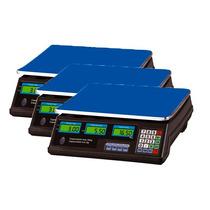 Kit 3 Balança Eletrônica Digital 40kg Bivolt Alta Precisão