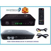 Receptor Digital Tv Tubo E Novas Lcd Plasma 670-n P Uhf